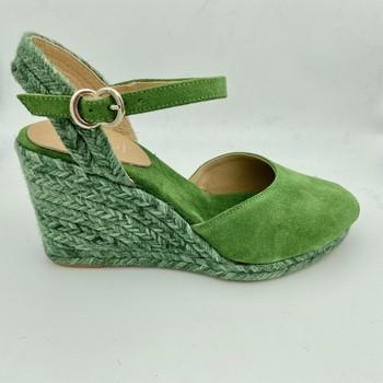 Chaussures Femme Sandales et Nu-pieds Maypol NEIRE11-C-BS SANDALE CORDE Vert