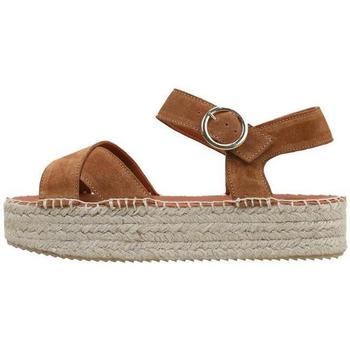 Chaussures Femme Sandales et Nu-pieds Senses & Shoes  Marron
