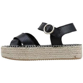 Chaussures Femme Sandales et Nu-pieds Senses & Shoes  Noir
