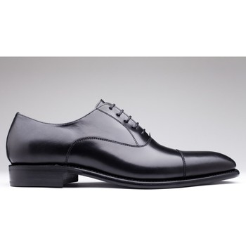 Chaussures Homme Richelieu Finsbury Shoes CONSUL Noir mat
