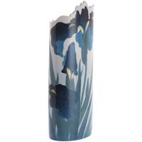 Maison & Déco Vases, caches pots d'intérieur Muzeum Vase en céramique silhouette Ohara Koson - Irises Bleu