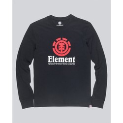 Vêtements Garçon T-shirts manches longues Element Tee Shirt manches longues - noir Noir