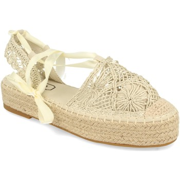 Chaussures Femme Espadrilles H&d YZ19-329 Beige