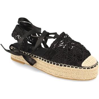 Chaussures Femme Espadrilles H&d YZ19-329 Negro