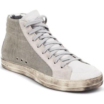 Chaussures Femme Baskets montantes P448 Baskets Skate Desert blanc Beige
