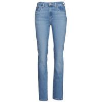 Vêtements Femme Jeans droit Levi's 724 HIGH RISE STRAIGHT Bleu
