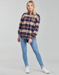 Vêtements Femme Jeans skinny Levi's 712 SKINNY Bleu