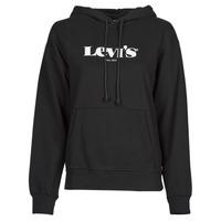 Vêtements Femme Sweats Levi's GRAPHIC STANDARD HOODIE Noir