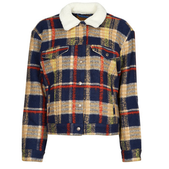 Vêtements Femme Vestes en jean Levi's WOOL TRUCKER Multicolore