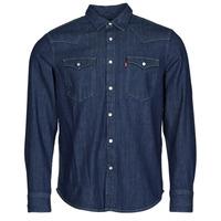 Vêtements Homme Chemises manches longues Levi's BARSTOW WESTERN STANDARD Bleu