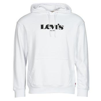 Vêtements Homme Sweats Levi's T2 RELAXED GRAPHIC PO Blanc
