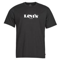 Vêtements Homme T-shirts manches courtes Levi's SS RELAXED FIT TEE Noir