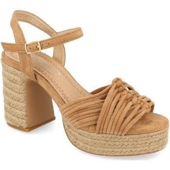 Chaussures Femme Sandales et Nu-pieds H&d YZ19-299 Marron
