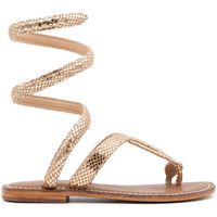 Chaussures Femme Tongs Cb Fusion R217037-PINK-GOLD ORO