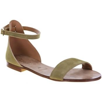 Chaussures Femme Sandales et Nu-pieds Champ De Fleurs 118ZARA Kaki