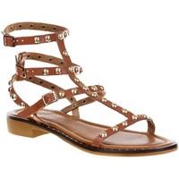 Chaussures Femme Sacs de voyage Donna Lucca 1119 BIS Camel