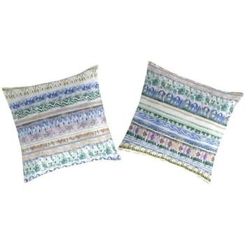 Maison & Déco Taies d'oreillers, traversins Naf Naf Taie d'oreiller  NAVIR (2) bleu/vert/rose