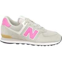 Chaussures Fille Baskets basses New Balance 574 Beige