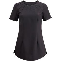 Vêtements Femme T-shirts manches courtes Alexandra Satin Noir