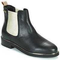 Chaussures Femme Boots Les Tropéziennes par M Belarbi MICKY Noir / Doré