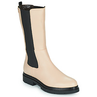 Chaussures Femme Boots Les Tropéziennes par M Belarbi SADDIE Beige / Noir