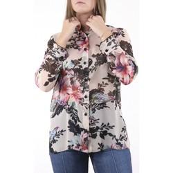 Vêtements Femme Chemises / Chemisiers Georgedé Chemisier Laurène en Mousseline Imprimé Fleuri Multicolore