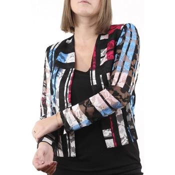 Vêtements Femme Vestes Georgedé Gilet Jessy en Dentelle Multicolore