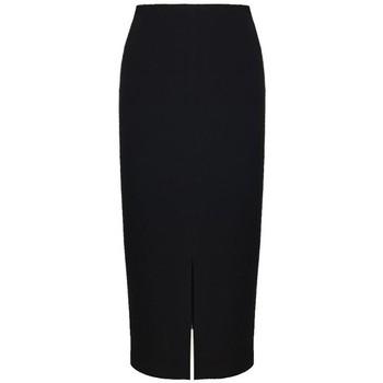 Vêtements Femme Jupes Georgedé Jupe Juliette Fendue en Jersey Noir