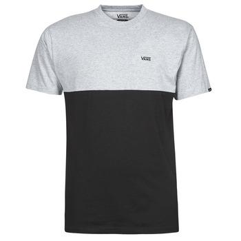 Vêtements Homme T-shirts manches courtes Vans COLORBLOCK TEE Gris / Noir
