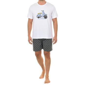 Vêtements Homme Pyjamas / Chemises de nuit Kisses And Love Kisses & Love Pyjama M / Short Multicolore