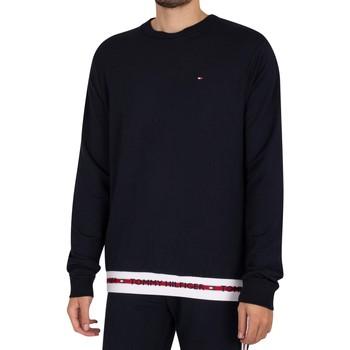 Vêtements Homme Sweats Tommy Hilfiger Sweat-shirt à logo lounge bleu