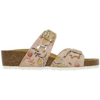 Chaussures Femme Mules Santafe BIO FLORA Rose