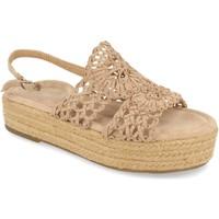 Chaussures Femme Sandales et Nu-pieds H&d YZ19-163 Beige