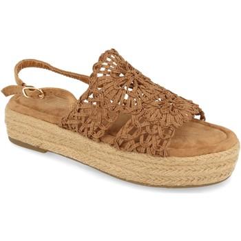 Chaussures Femme Sandales et Nu-pieds H&d YZ19-163 Marron