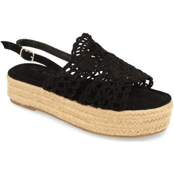Chaussures Femme Sandales et Nu-pieds H&d YZ19-163 Negro