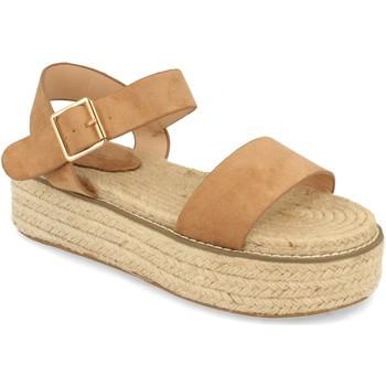 Chaussures Femme Sandales et Nu-pieds H&d YZ19-200 Marron