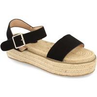 Chaussures Femme Sandales et Nu-pieds H&d YZ19-200 Negro