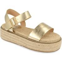 Chaussures Femme Sandales et Nu-pieds H&d YZ19-200 Oro