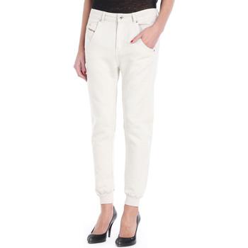 Vêtements Femme Chinos / Carrots Diesel Pantalon  Fayza-P 129 Blanc