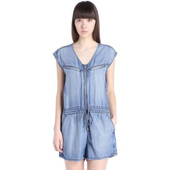 Vêtements Femme Combinaisons / Salopettes Diesel Combishort  De-Venia 01 Bleu