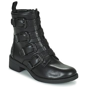 Chaussures Femme Boots Les Petites Bombes QUADRI Noir