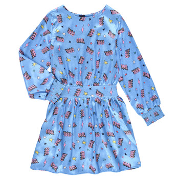Vêtements Fille Robes courtes Billieblush STIKA Bleu