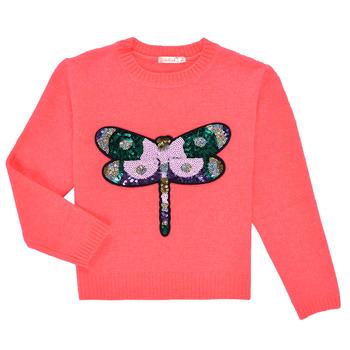Vêtements Fille Pulls Billieblush VIANNE Rose