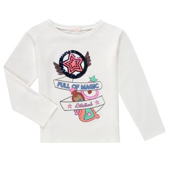 Vêtements Fille T-shirts manches longues Billieblush FADILA Blanc
