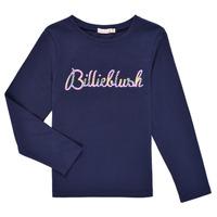 Vêtements Fille T-shirts manches longues Billieblush PETRA Marine