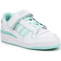 Chaussures Femme Baskets basses adidas Originals Adidas Forum Plus W FY4529 biały, zielony