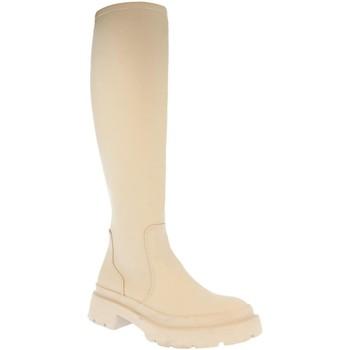 Chaussures Femme Bottes de pluie H&d YZ19-339 Beige