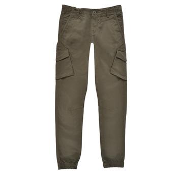 Vêtements Garçon Pantalons cargo Teddy Smith BATTLE Kaki