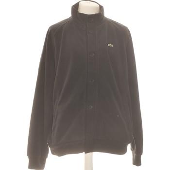 Vêtements Homme Gilets / Cardigans Lacoste Gilet Homme  36 - T1 - S Noir
