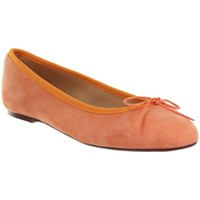 Chaussures Femme Ballerines / babies Champ De Fleurs STEFANIA611 Orange